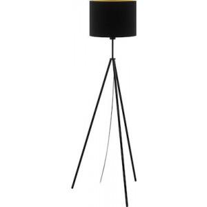 Eglo Φωτιστικό Δαπέδου Scigliati Black-Gold 98391