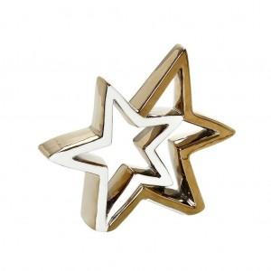 Αστέρι Χρυσό Πορσελάνη 20,5εκ. Espiel (XSY123K4)