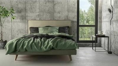 Nτυμένο Κρεβάτι Capri 160x200 Media Strom