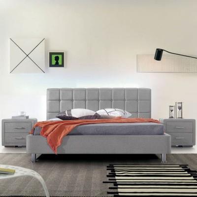 Ντυμένο Κρεβάτι Evelina 160x200εκ. Varossi