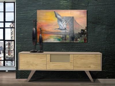 Έπιπλο Tηλεόρασης Corner 160x55