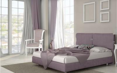 Κρεβάτι Irida 160x200εκ. Media Strom
