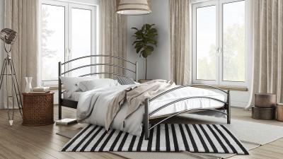 Μεταλλικό Κρεβάτι Kelly Μονό (090x190)