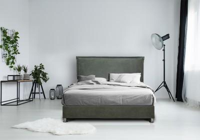 Ντυμένο Κρεβάτι Life 160x200εκ.