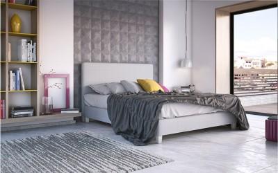 Κρεβάτι Livorno 160x200εκ. Media Strom