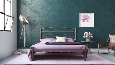 Μεταλλικό Κρεβάτι Σαμ 160x200
