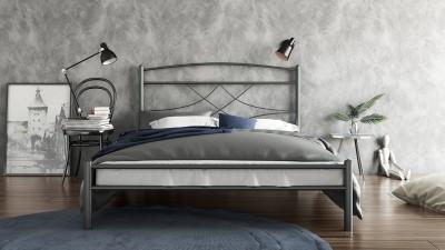 Μεταλλικό Κρεβάτι Έμμα 160x200
