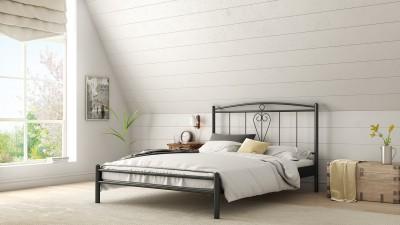 Μεταλλικό κρεβάτι Εύα 160x200