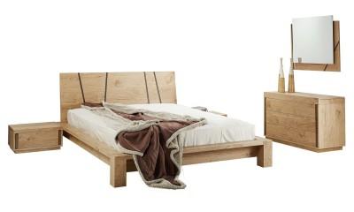 Κρεβάτι Natura Wood 160x200 EpiploStyle