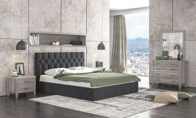 Ντυμένο κρεβάτι Νο 63 160x200