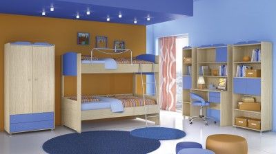 Παιδικό Δωμάτιο Νο 4 Κουκέτα